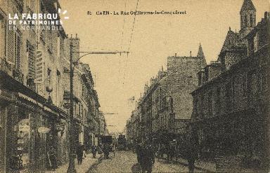 Cl 06 120 Caen-La rue guillaume le Conquérant