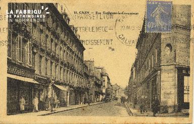 Cl 06 121 Caen-Rue Guillaume le Conquérant