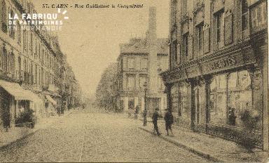 Cl 06 122 Caen-Rue Guillaume le Conquérant