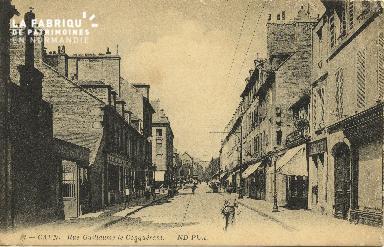 Cl 06 123 Caen-Rue Guillaume le Conquérant