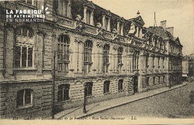 Cl 06 131 Caen-bibliothèque de la faculté-Rue St Sauveur