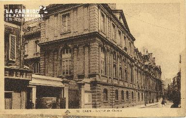 Cl 06 133 Caen-Déposant : institut de chimie