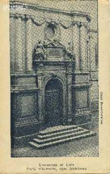 Cl 06 134 Caen-Université de Caen- porte d'honneur, cour intérieure