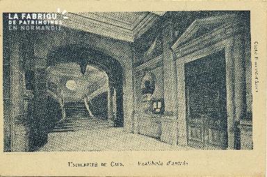 Cl 06 135 Caen-Université de Caen-vestibule d'entrée