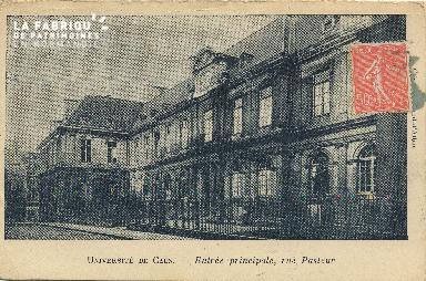 Cl 06 137 Caen- université de Caen-Entrée principale, rue Pasteur