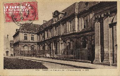 Cl 06 139 Caen-palais de l'université