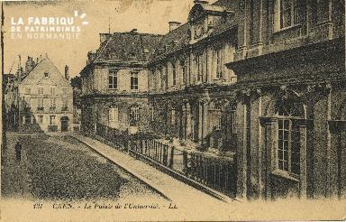 Cl 06 140 Caen-Le palais de l'université