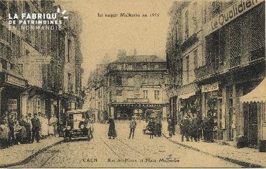 Cl 06 153 Caen-Rue St Pierre et place Malherbe