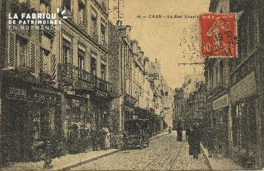 Cl 06 158 Caen-La rue Ecuyère