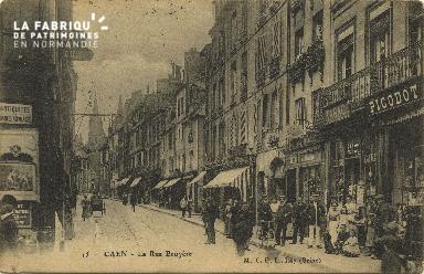 Cl 06 159 Caen- La rue Ecuyère