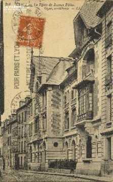 Cl 06 161 Caen- Le lycée de jeunes filles-oyer architecte