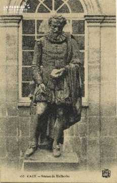 Cl 06 164 Caen-Statue de Malherbe
