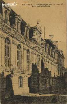Cl 06 165 Caen-bibliothèque de la faculté, rue St Sauveur