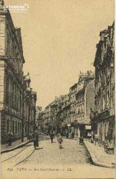 Cl 06 166 Caen- Rue St Sauveur
