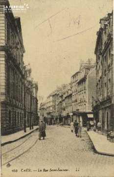 Cl 06 167 Caen-La rue St Sauveur
