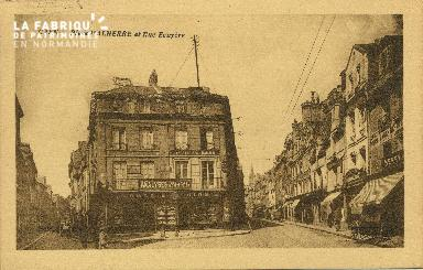 Cl 06 175 Caen-Place Malherbe et rue Ecuyère