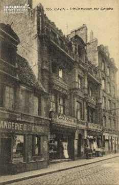 Cl 06 176 Caen-Vielle maison, rue Ecuyère