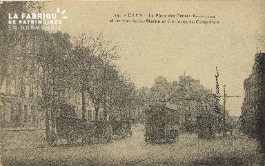 Cl 06 179 Caen-La place des Petites-Boucheries et les rues Saint Martin e