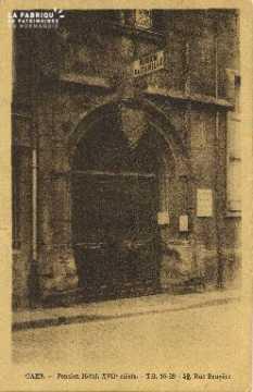 Cl 06 181 Caen-Pension-Hôtel,XVIIe siècle-rue Ecuyère