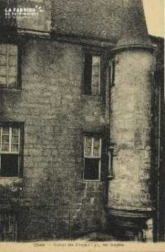 Cl 06 182 Caen-Maison des ecuyers,42 rue Ecuyère