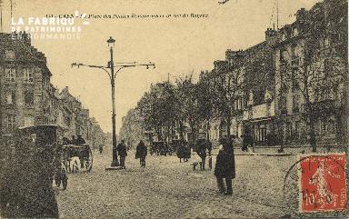Cl 06 184 Caen-La place des Petites-Boucheries et la rue de Bayeux