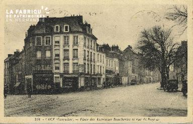 Cl 06 188 Caen-Place des anciennes boucheries et rue de Bayeux