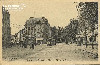 Cl 06 189 Caen-Place de l'ancienne boucherie