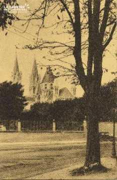 Cl 06 191 Caen-Eglise St Etienne ou abbaye aux hommes