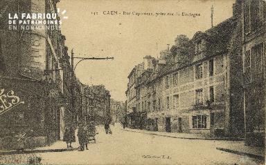 Cl 06 194 Caen Rue Caponière, prise rue de Bretagne