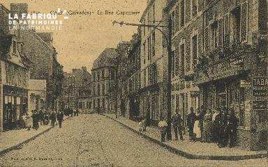 Cl 06 195 Caen-La rue Caponière