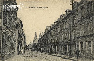 Cl 06 201 Caen-Rue de Bayeux