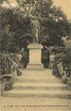 Cl 06 208 Caen-Sacré coeur de Jésus des soeurs de St Vincent de Paul