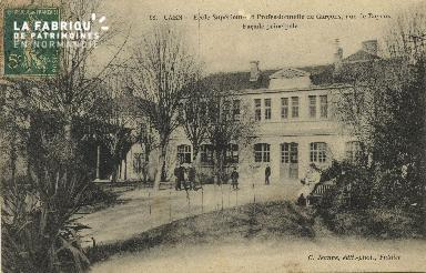 Cl 06 213 Caen-Ecole supérieure et proféssionnelle de garçons,rue de B