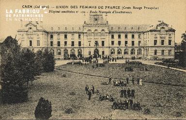 Cl 06 225 Caen-Union des femmes de France(croix rouge Française)-Hôpit