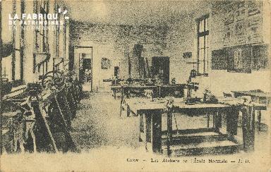 Cl 06 228 Caen-Les ateliers de l'école normale