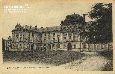 Cl 06 230 Caen-Ecole normale d'Déposant : instituteurs