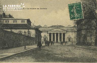 Cl 06 231 Caen-Le palais de justice