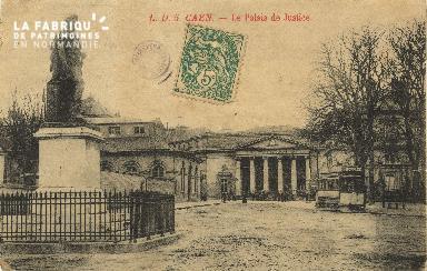 Cl 06 232 Caen-Le palais de justice