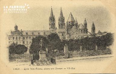 Cl 06 238 Caen-Eglise St Etienne-Abbaye aux hommes