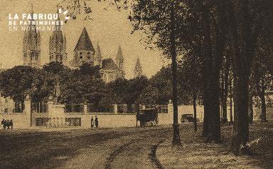 Cl 06 241 Caen-Eglise St Etienne ou Abbaye aux hommes