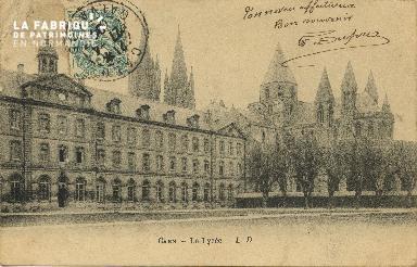Cl 06 247 Caen-Le lycée