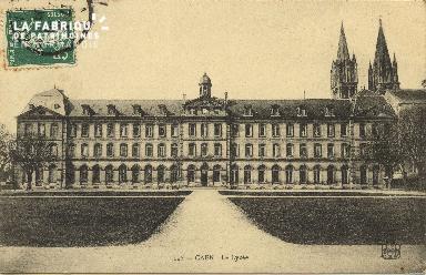 Cl 06 253 Caen-Le lycée