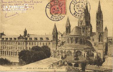 Cl 06 255 Caen-Abside de l'abbaye aux hommes