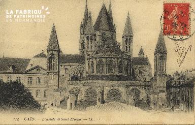 Cl 06 256 Caen-l'Abside de St Etienne
