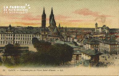 Cl 06 260 Caen-Panorama pris du vieux St Etienne
