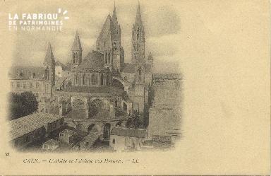 Cl 06 261 Caen-l'Abside de l'Abbaye aux hommes