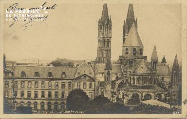 Cl 06 263 Caen-Le lycée et St Etienne