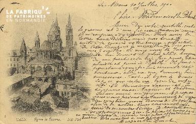 Cl 06 264 Caen-Eglise St Etienne