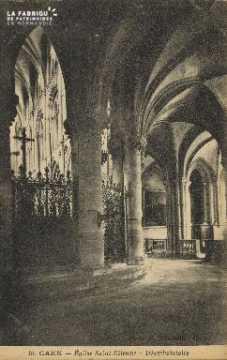 Cl 06 267 Caen-Eglise St Etienne-Déambulatoire