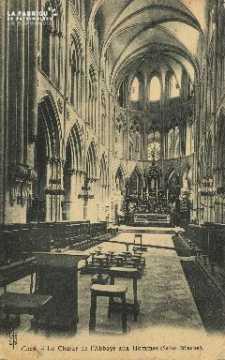 Cl 06 268 Caen-Le choeur de l'abbaye aux hommes(St Etienne